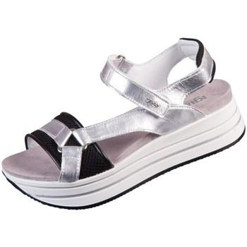 Čevlji  Ženske Sandali & Odprti čevlji IgI&CO Skay Črna, Srebrna
