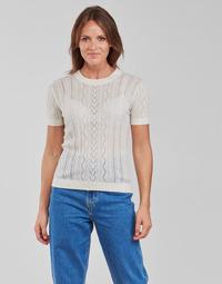 Oblačila Ženske Topi & Bluze Betty London PAVARI Bela