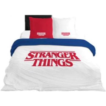 Dom Otroci Prevleke za prešito odejo Stranger Things 64112 Blanco