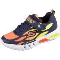 Čevlji  Otroci Nizke superge Skechers Flex Glow Oranžna, Rumena, Grafitna