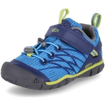 Čevlji  Dečki Pohodništvo Keen Chandler Cnx Modra