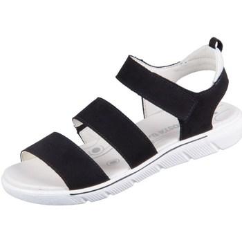 Čevlji  Deklice Sandali & Odprti čevlji Ricosta Delia Črna