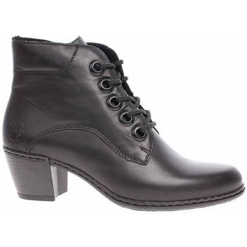 Čevlji  Ženske Gležnjarji Rieker Y210000 Črna