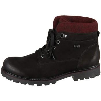 Čevlji  Ženske Polškornji Remonte Dorndorf D747604 Črna, Bordo rdeča
