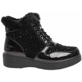 Čevlji  Ženske Škornji za sneg Rieker 9331200 Črna