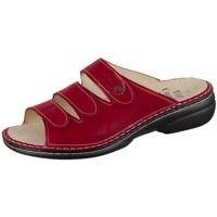 Čevlji  Ženske Natikači Finn Comfort Kos Rdeča, Bordo rdeča