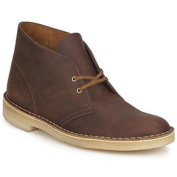 Čevlji  Moški Polškornji Clarks DESERT BOOT Kostanjeva