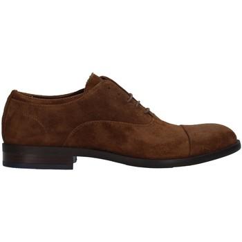 Čevlji  Moški Čevlji Derby Re Blu' 1236 BROWN