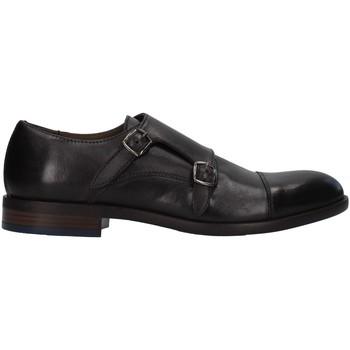 Čevlji  Moški Čevlji Derby Re Blu' 7768 BLACK