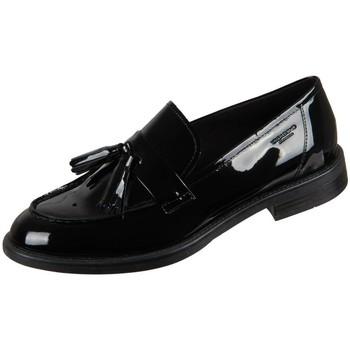 Čevlji  Ženske Mokasini Vagabond Shoemakers Amina Black Lack Črna