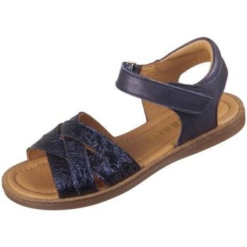 Čevlji  Otroci Sandali & Odprti čevlji Bisgaard 702931211426 Mornarsko modra