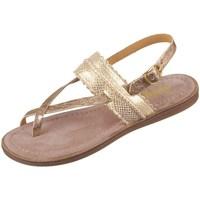 Čevlji  Deklice Sandali & Odprti čevlji Bisgaard 719321211128 Zlata