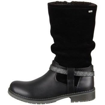 Čevlji  Deklice Mestni škornji    Lurchi Lia Črna