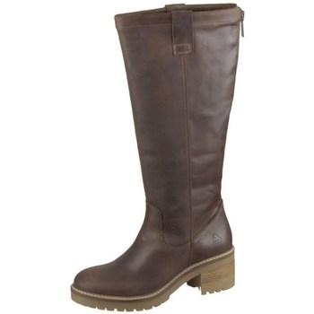 Čevlji  Ženske Mestni škornji    Bullboxer 577M76168DDBGKTD79 Rjava