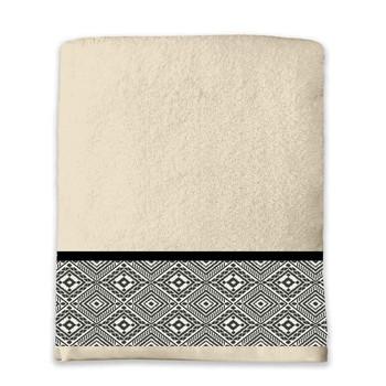 Dom Kopalniške brisače in rokavice za umivanje Douceur d intérieur ESTEBAN Bež