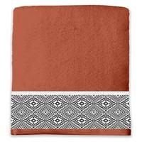 Dom Kopalniške brisače in rokavice za umivanje Douceur d intérieur ESTEBAN Rdeča