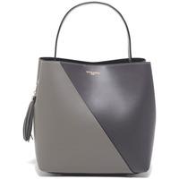 Torbice Ženske Ročne torbice Victor & Hugo TYRA GRIS CLAIR / GRIS FONCE