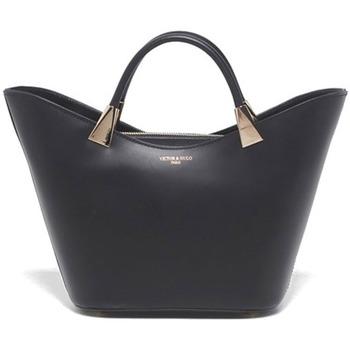 Torbice Ženske Ročne torbice Victor & Hugo LETY NOIR