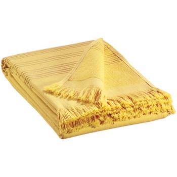 Dom Kopalniške brisače in rokavice za umivanje Vivaraise CANCUN Žlutá kari