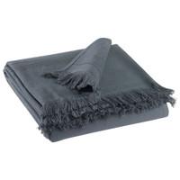 Dom Kopalniške brisače in rokavice za umivanje Vivaraise CANCUN Siva / Cień
