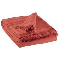 Dom Kopalniške brisače in rokavice za umivanje Vivaraise CANCUN Rdeča