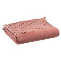 Dom Kopalniške brisače in rokavice za umivanje Vivaraise JULIA Rožnata / Rumena