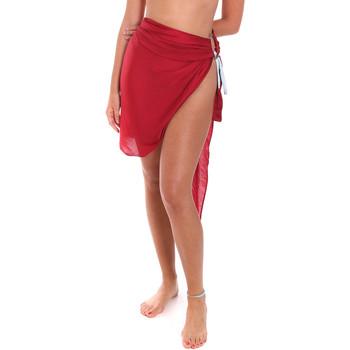 Oblačila Ženske Pareo Me Fui M20-0052RS Rdeča