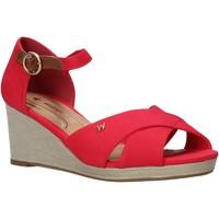 Čevlji  Ženske Sandali & Odprti čevlji Wrangler WL01520A Rdeča