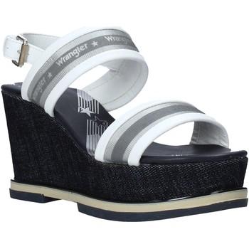 Čevlji  Ženske Sandali & Odprti čevlji Wrangler WL01553A Biely