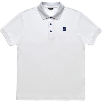 Oblačila Moški Polo majice kratki rokavi Refrigiwear RM0T19001PX9032 Biely