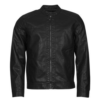 Oblačila Moški Usnjene jakne & Sintetične jakne Only & Sons  ONSMIKE Črna