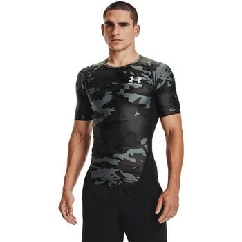 Oblačila Moški Majice s kratkimi rokavi Under Armour HG Isochill Comp Print Siva