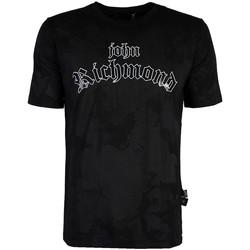 Oblačila Moški Majice s kratkimi rokavi John Richmond  Črna