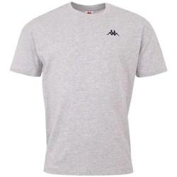 Oblačila Moški Majice s kratkimi rokavi Kappa Veer Tshirt Siva