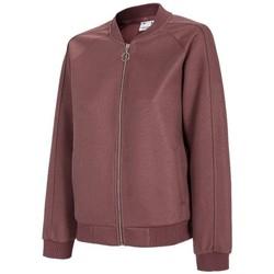 Oblačila Ženske Puloverji 4F BLD021 Češnjevo rdeča