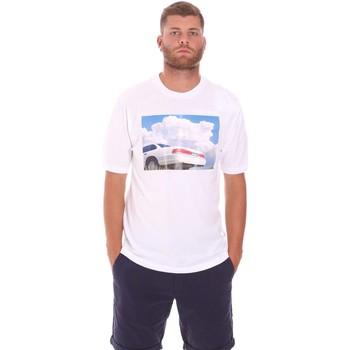 Oblačila Moški Majice s kratkimi rokavi Sseinse TE1825SS Biely