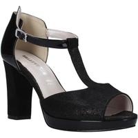 Čevlji  Ženske Sandali & Odprti čevlji Valleverde 45550 Črna