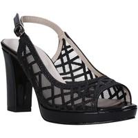 Čevlji  Ženske Sandali & Odprti čevlji Valleverde 45552 Črna