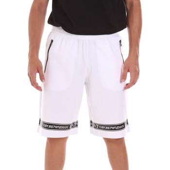 Oblačila Moški Kratke hlače & Bermuda Ea7 Emporio Armani 3KPS56 PJ05Z Biely
