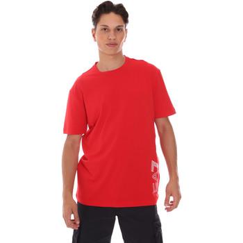 Oblačila Moški Majice s kratkimi rokavi Ea7 Emporio Armani 3KPT23 PJ9TZ Rdeča