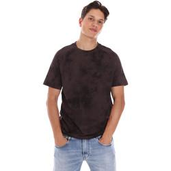Oblačila Moški Majice s kratkimi rokavi Calvin Klein Jeans K10K106832 Rjav