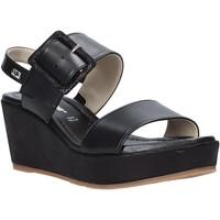Čevlji  Ženske Sandali & Odprti čevlji Valleverde 32213 Črna
