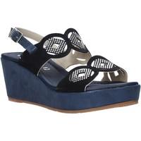 Čevlji  Ženske Sandali & Odprti čevlji Valleverde 32214 Modra