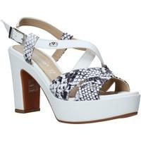 Čevlji  Ženske Sandali & Odprti čevlji Valleverde 32520 Biely