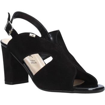 Čevlji  Ženske Sandali & Odprti čevlji Valleverde 38564 Črna