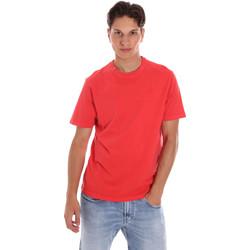 Oblačila Moški Majice s kratkimi rokavi Ciesse Piumini 215CPMT01455 C2410X Rdeča