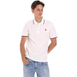 Oblačila Moški Polo majice kratki rokavi Ciesse Piumini 215CPMT21423 C2510X Biely