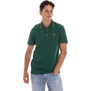 Oblačila Moški Polo majice kratki rokavi Ciesse Piumini 215CPMT21423 C2510X Zelena
