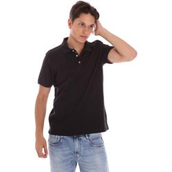 Oblačila Moški Polo majice kratki rokavi Ciesse Piumini 215CPMT21454 C0530X Črna