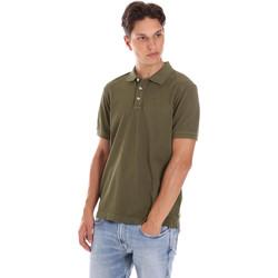 Oblačila Moški Polo majice kratki rokavi Ciesse Piumini 215CPMT21454 C0530X Zelena